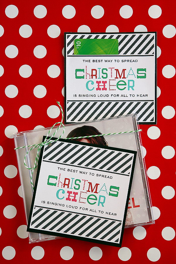 Christmas Cheer Music Gift.