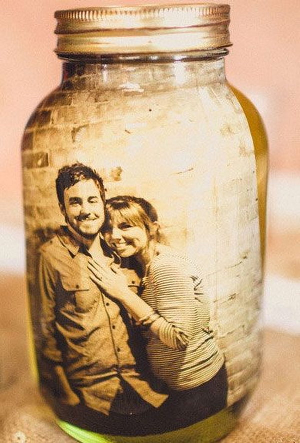 Picture in a Mason Jar