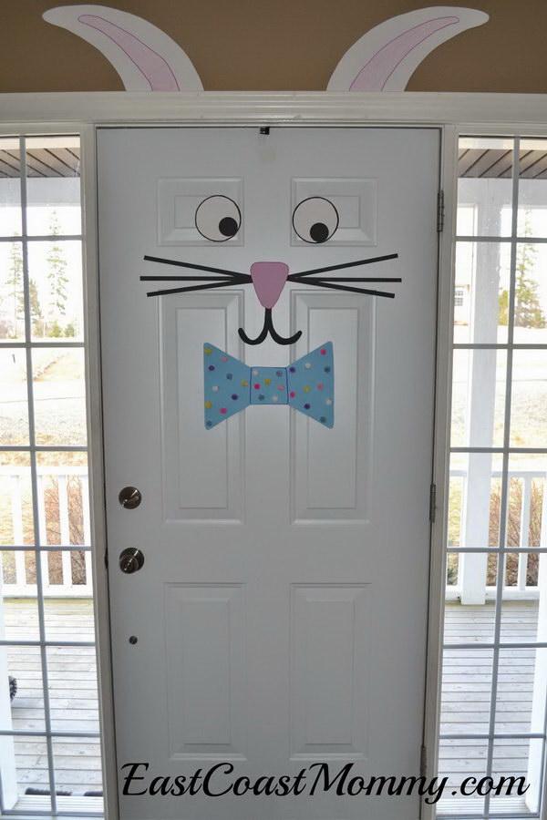 Easter Bunny Door Decoration.