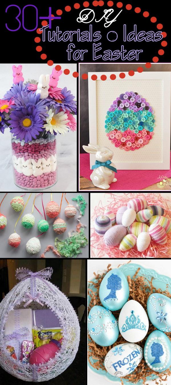 DIY Tutorials & Ideas for Easter!