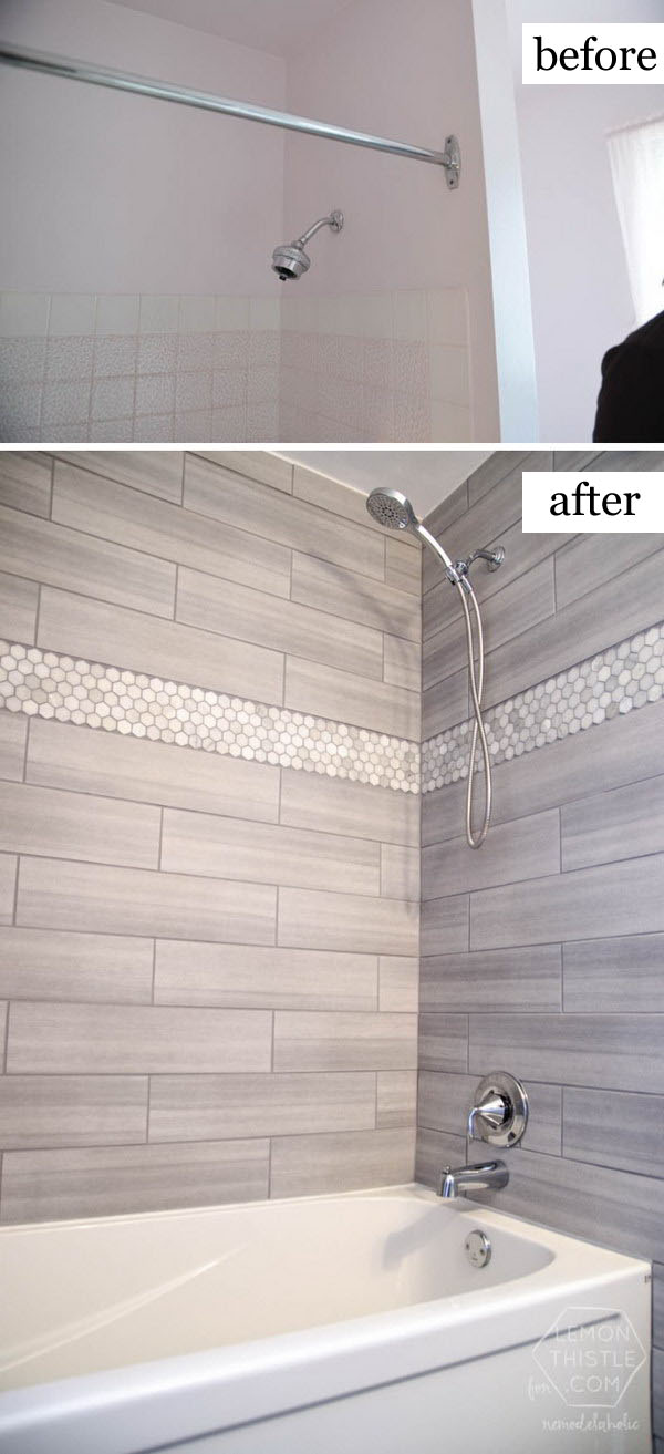 tile before or after fitting bathroom before and after makeovers 20 most beautiful bathroom 25786