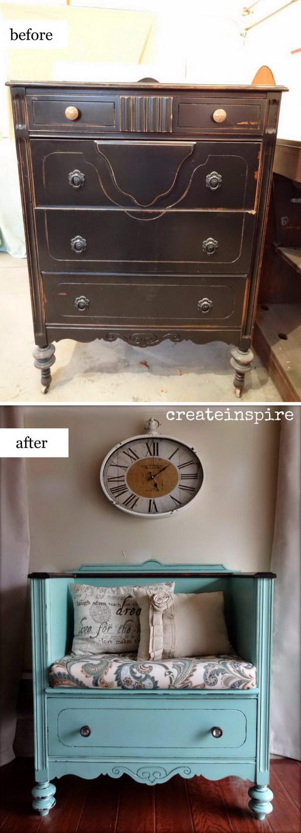 DIY Drawer Shelves.