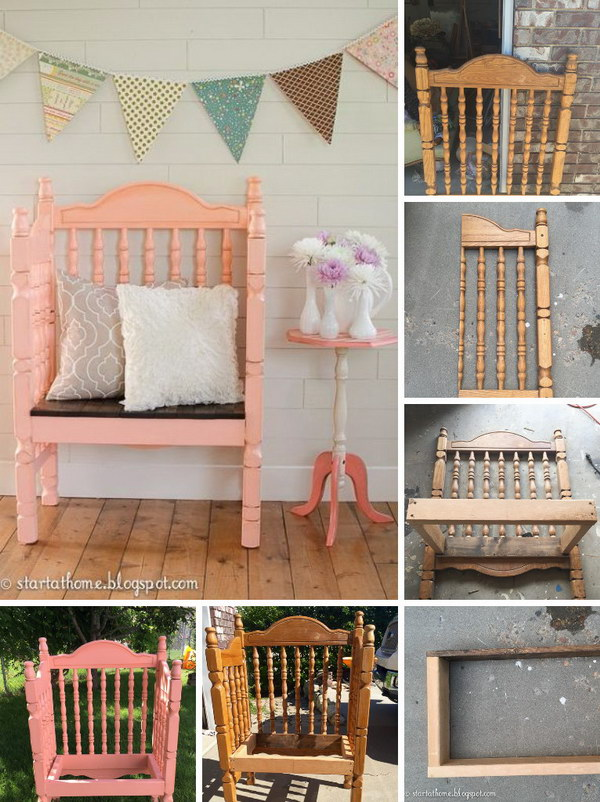 Crib Turned Bench Tutorial.