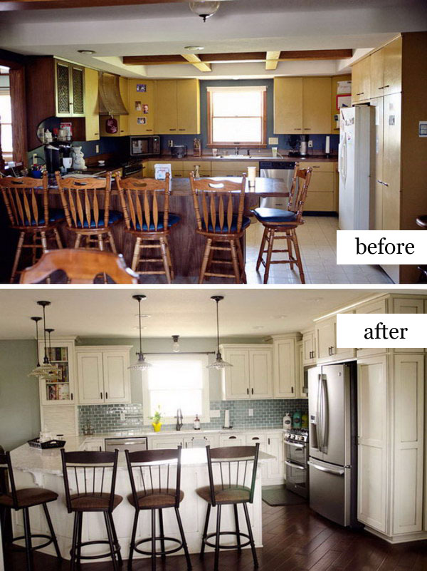Kitchen Remodel – From Dark and Dated to Bright and Beautiful.