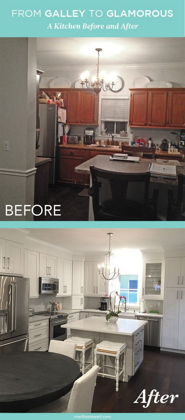 From Galley to Glamorous: A Kitchen Before and After.