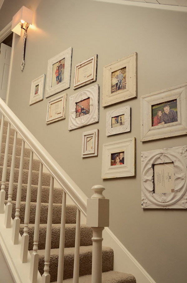 Picture Frames On The Wall Collage