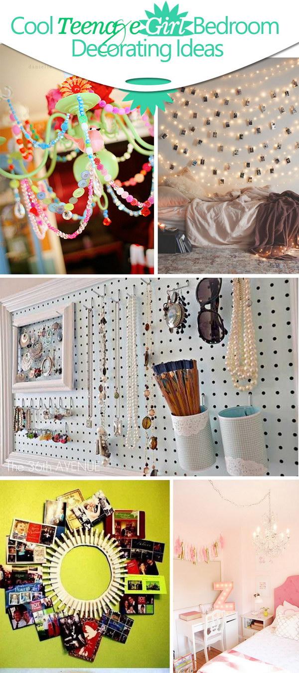 Cool Teenage Girl Bedroom Decorating Ideas!