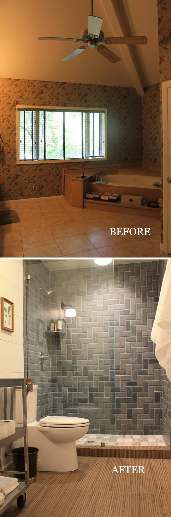 Amazing Bathroom Transformation.
