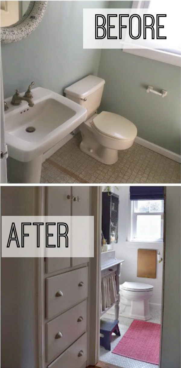 Small Bathroom Remodel.