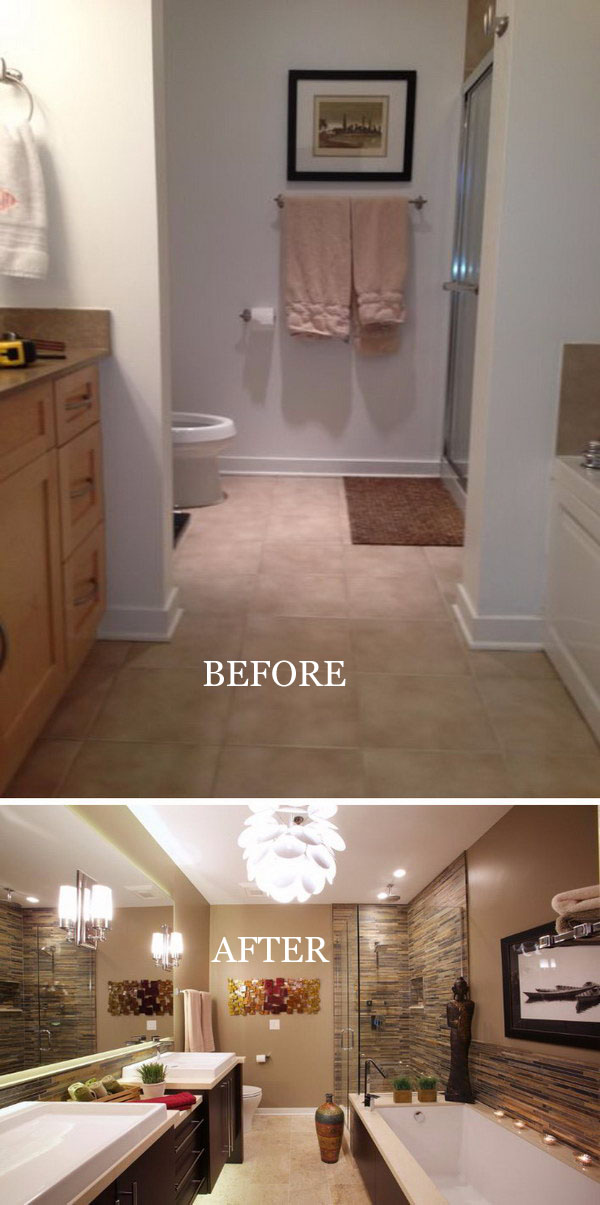 Unbelievable Chicago Master Bathroom Remodel.