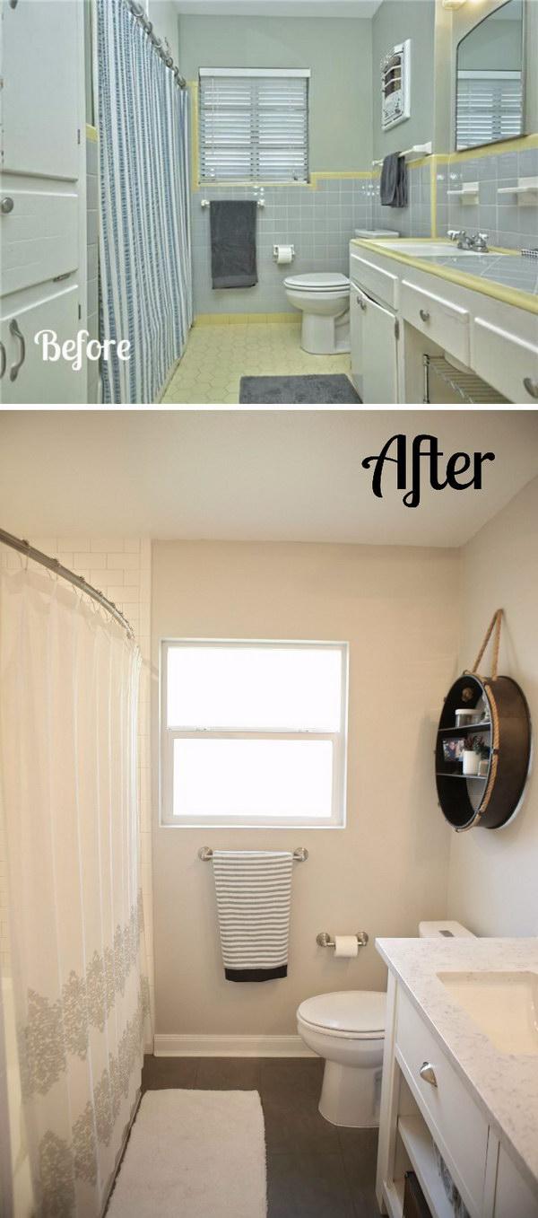 1950's Bathroom Remodel.