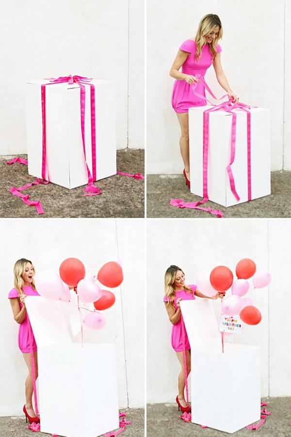 Best Friends Balloon Surprise.
