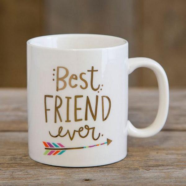 Friend Best Ever Mugs.