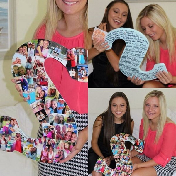 Photo Collage Letter.