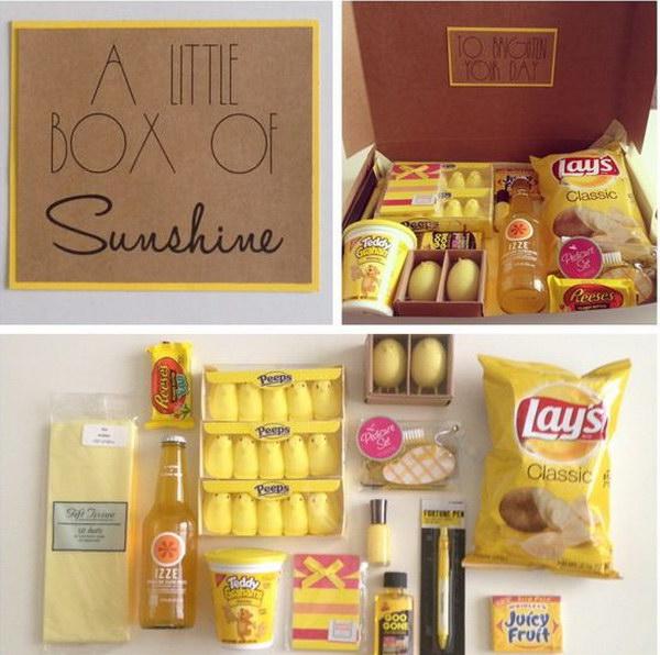 A Little Box of Sunshine.