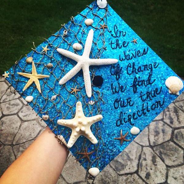Ocean Themed Graduation Decoration