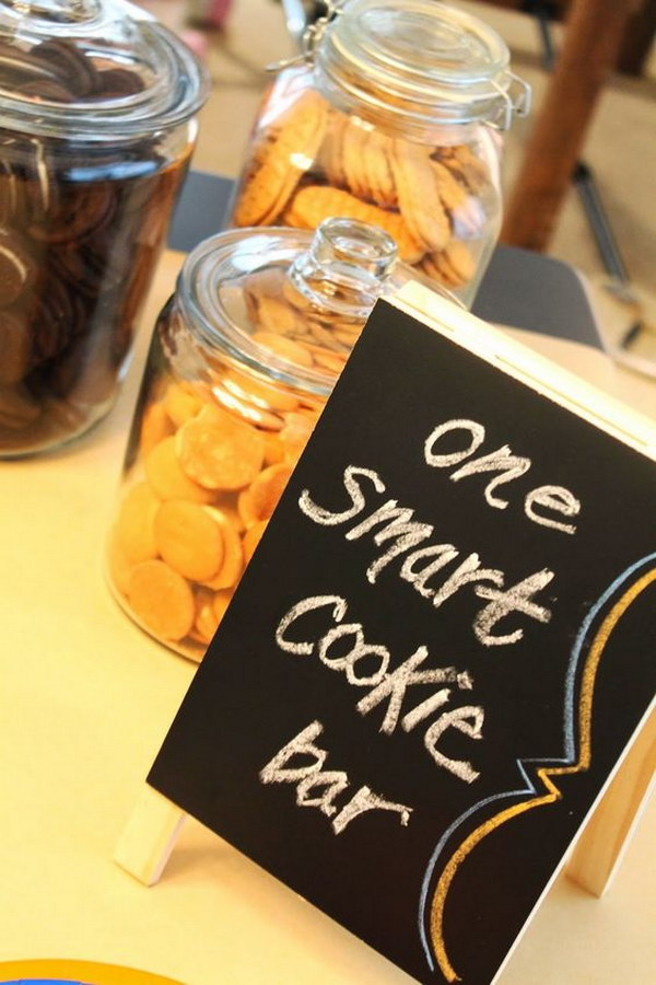 'One Smart Cookie' Graduation Party Cookie Bar.