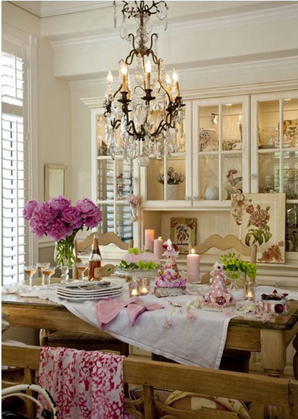 The Table and The Chandelier