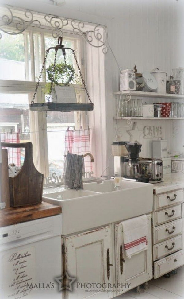 shabby chic kitchens ideas awesome shabby chic kitchen designs noted list 21643