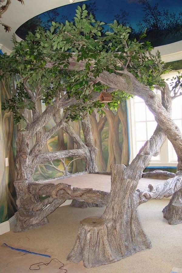 Tree Bed.