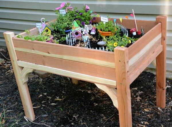 DIY Fairy Garden  Table