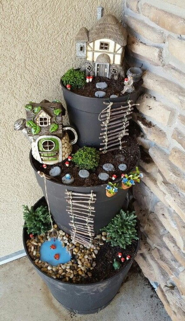 Potted Fairy Garden