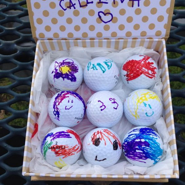 Custom Golf Balls for Dad