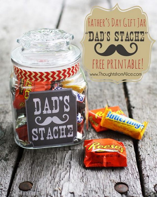 Father's Day Dad'S Stache in a Jar
