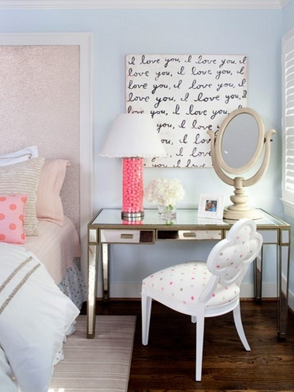 Beautiful DIY Wall Art and a Pop of Bright Colour