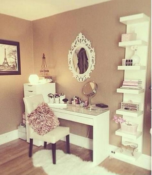 French Make Up Station Combined With A Tint Of Modern