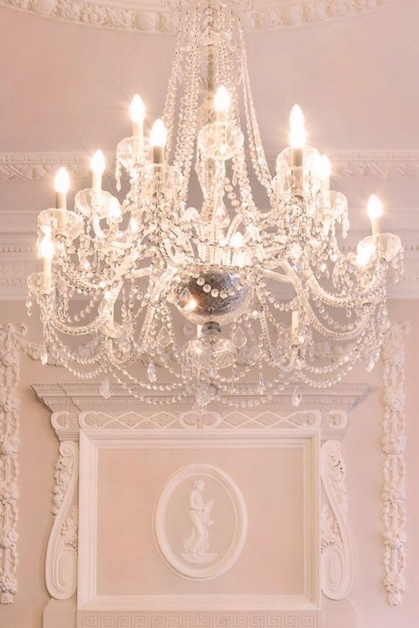 This Gorgeous Chandelier is Perfect for Your Shabby Chic Dining Room.