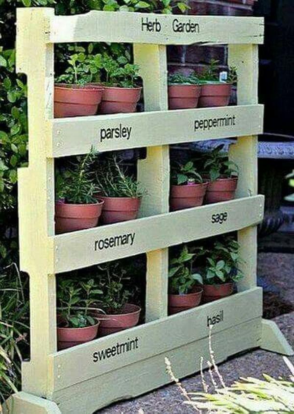 DIY Pallet Vertical Garden Tutorial