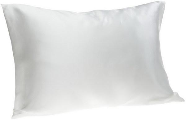 Sleep on a silk pillowcase for hair growth.