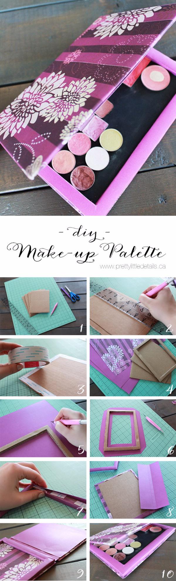 DIY Makeup Palette.