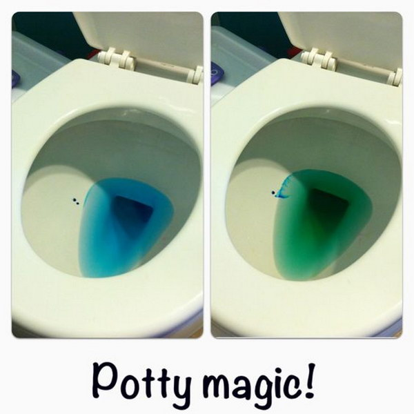 Make the process fun for motivating potty training success.
