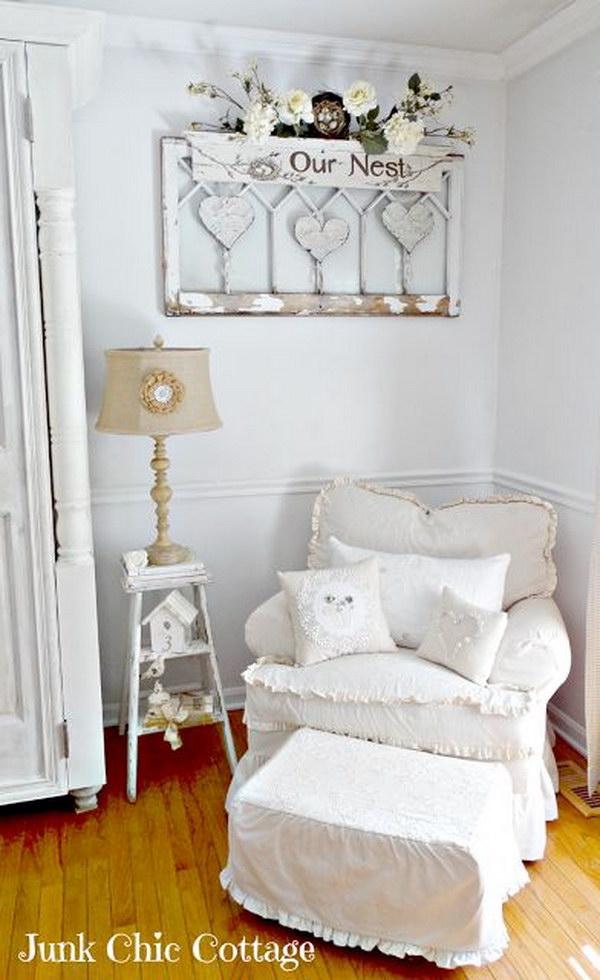 Living Room Corner Display