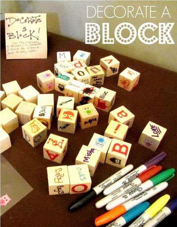 Block Sign In Book