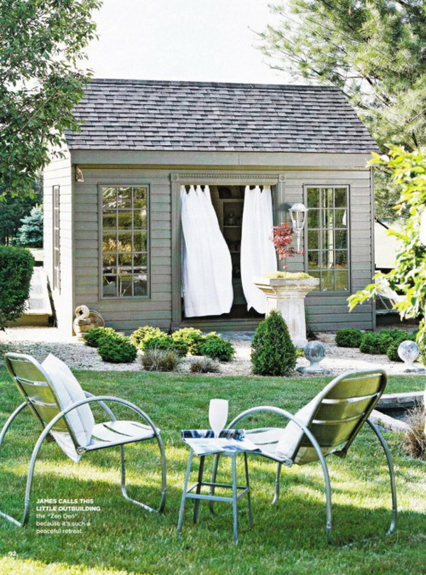 A Simple Yet Stylish Springtime Retreat.